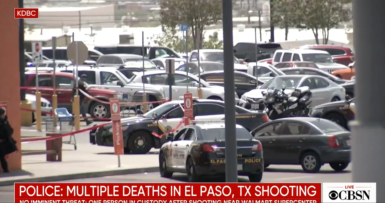 Image: Five simple questions that blow apart the official fake news narrative about the El Paso Wal-Mart shooting