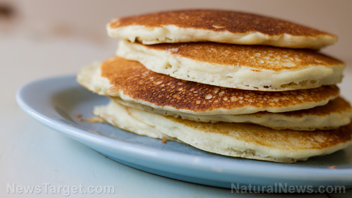 Image: Have a taste of frontier survival cooking with cornmeal pancakes