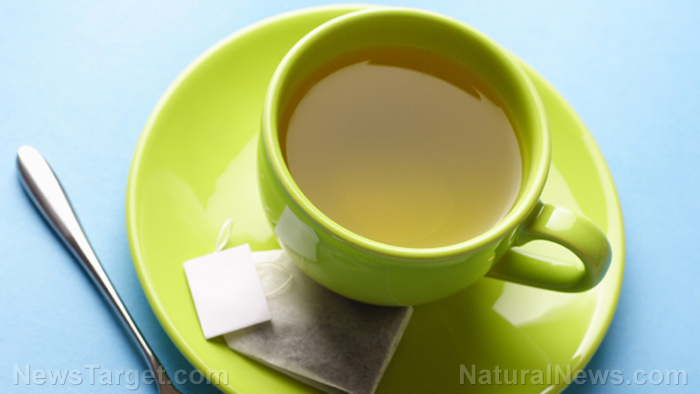 Image: Drink green tea to improve gut health and fight obesity
