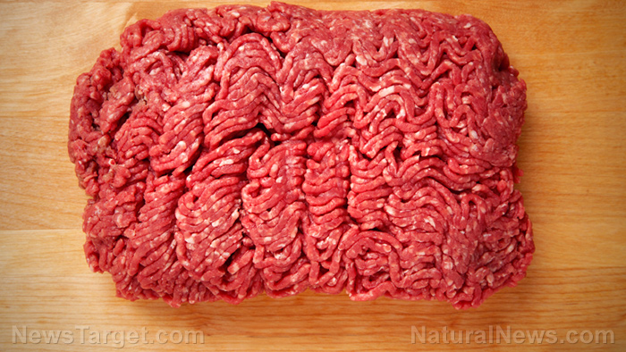 Image: USDA issues recall of 700 lbs. of beef and pork that may have been blended with HUMAN blood… did somebody fall into the grinder?
