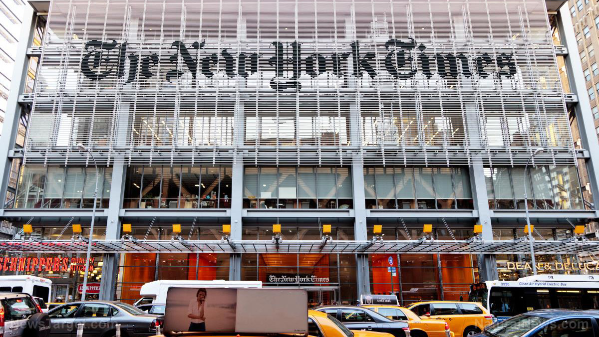 Image: The New York Times officially becomes a joke newspaper