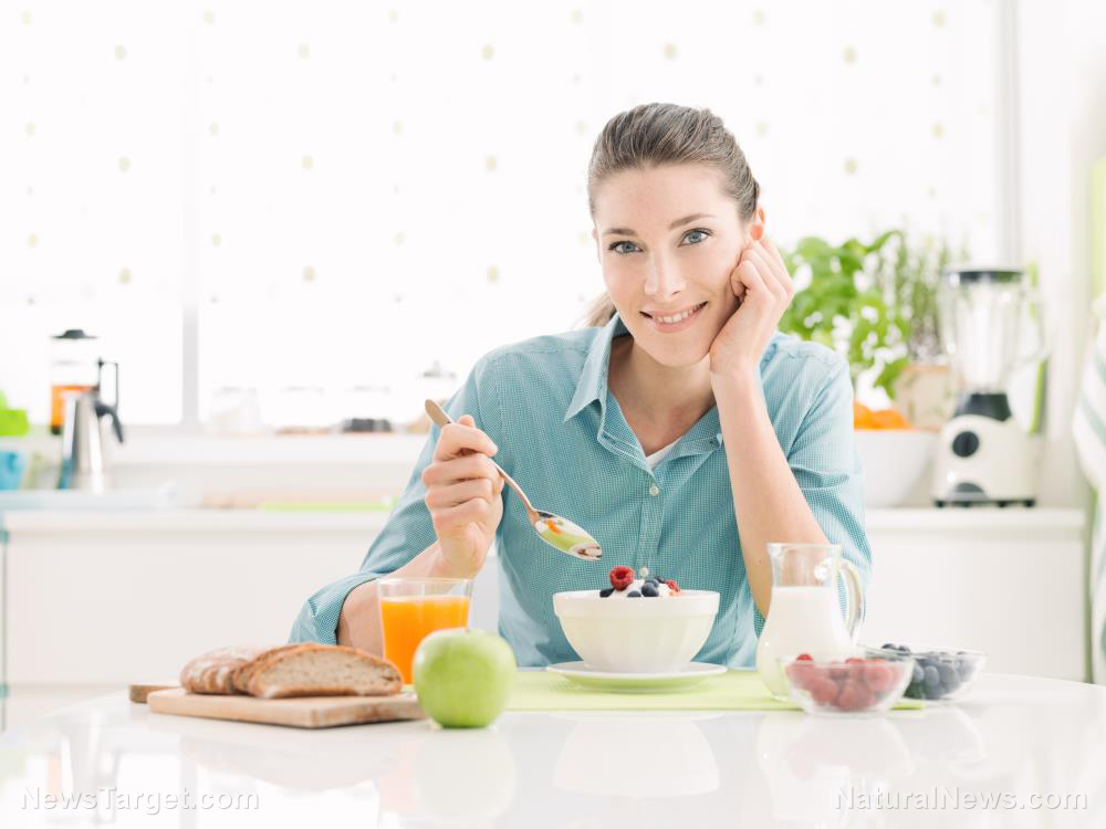 Image: Eating breakfast will give you energy and jumpstart your metabolism