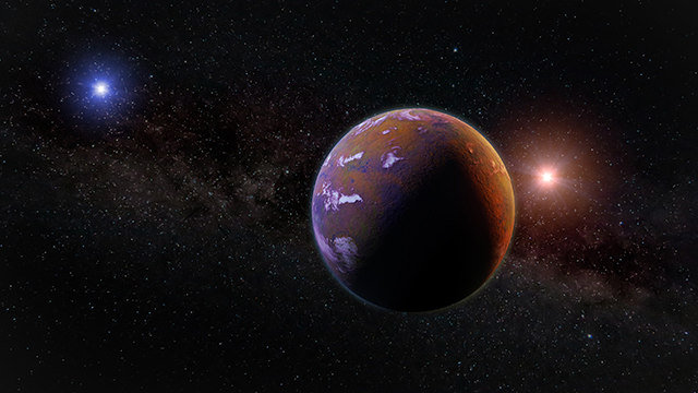Image: Stellar flybys can, in fact, reshape planetary systems – just look at this planet that was ejected from its orbit