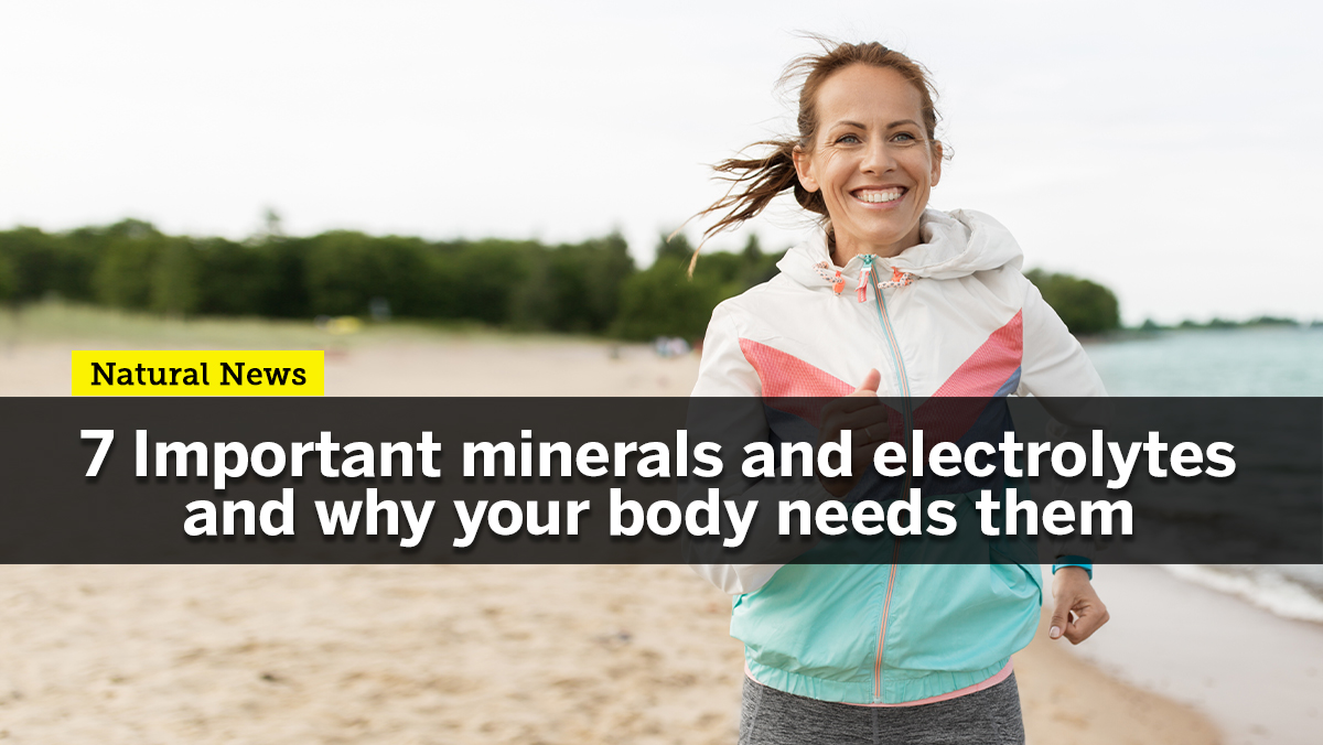 Image: Staying hydrated is not enough: Here's why you should infuse your drinking water with minerals and electrolytes