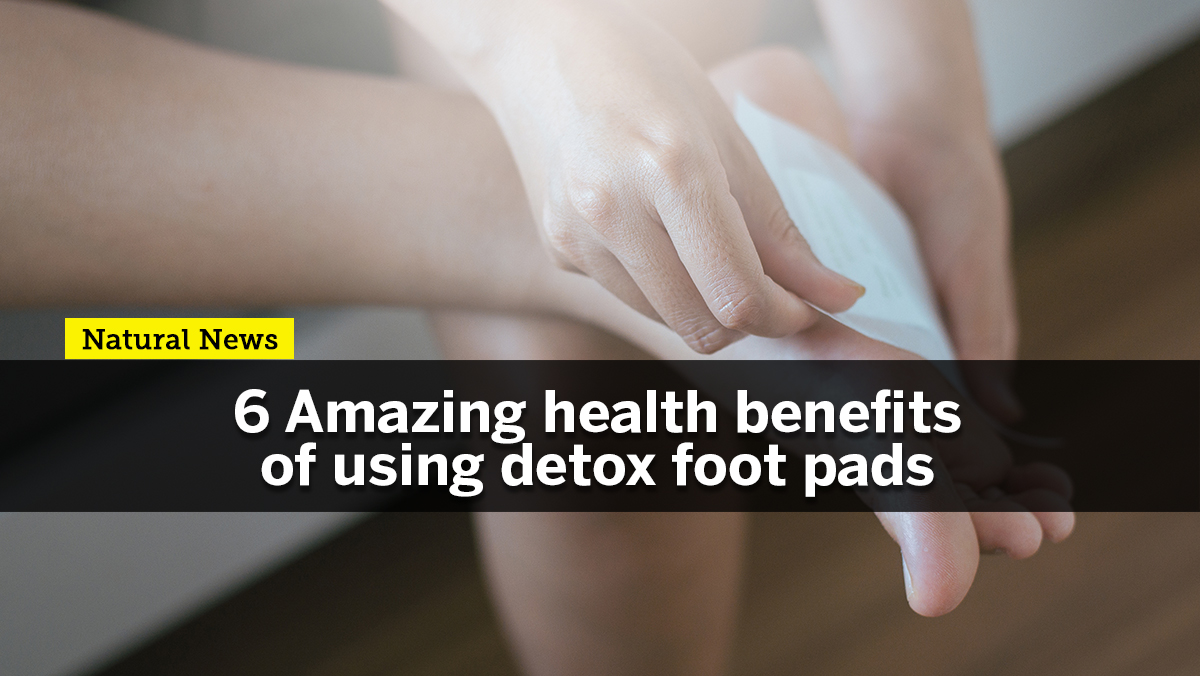 Image: Want to flush out unwanted toxins from your body? Try Detox Foot Pads