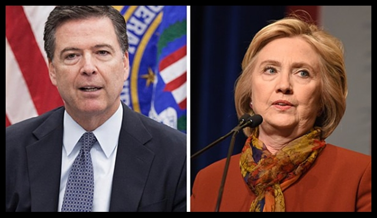 Image: Treasonous FBI aided criminal Hillary Clinton in destroying evidence, wiping hard drives to avoid prosecution