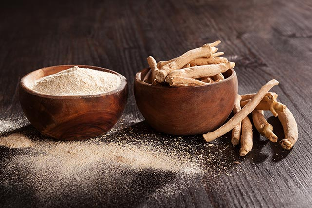 Image: Ashwagandha root is a natural anti-anxiety therapy