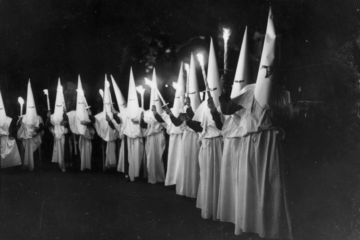 Image: REAL HISTORY: The NRA supported black Americans in their fight against the KKK, the racist, militant wing of the Democrat party