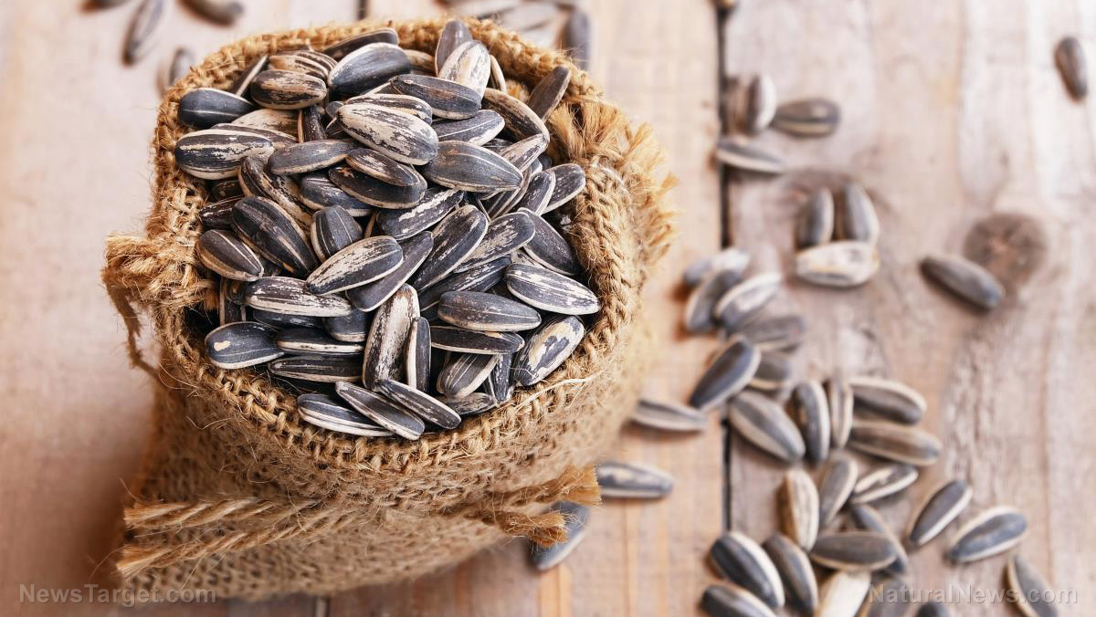 Image: Sunflower seeds are a delicious, healthy source of vitamin E