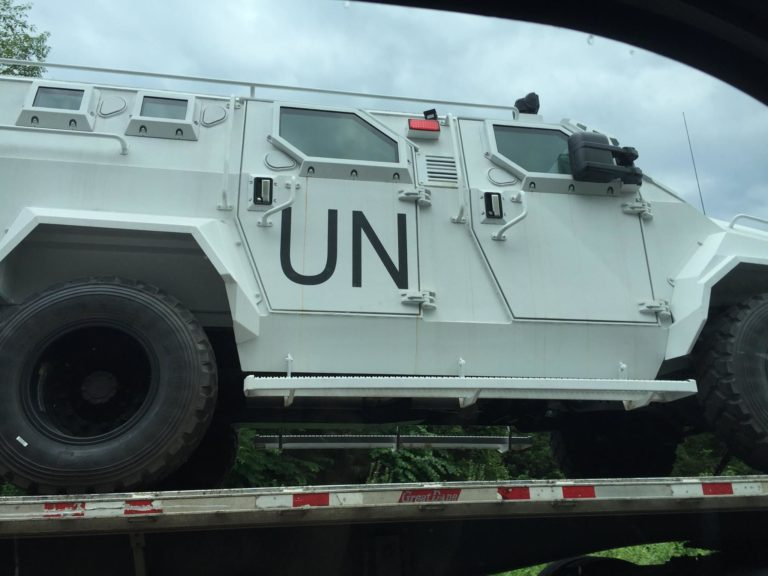 Image: What the…? The UN head of global communications says America has no right to protect its own borders and that migrants should be permitted to cross if they want