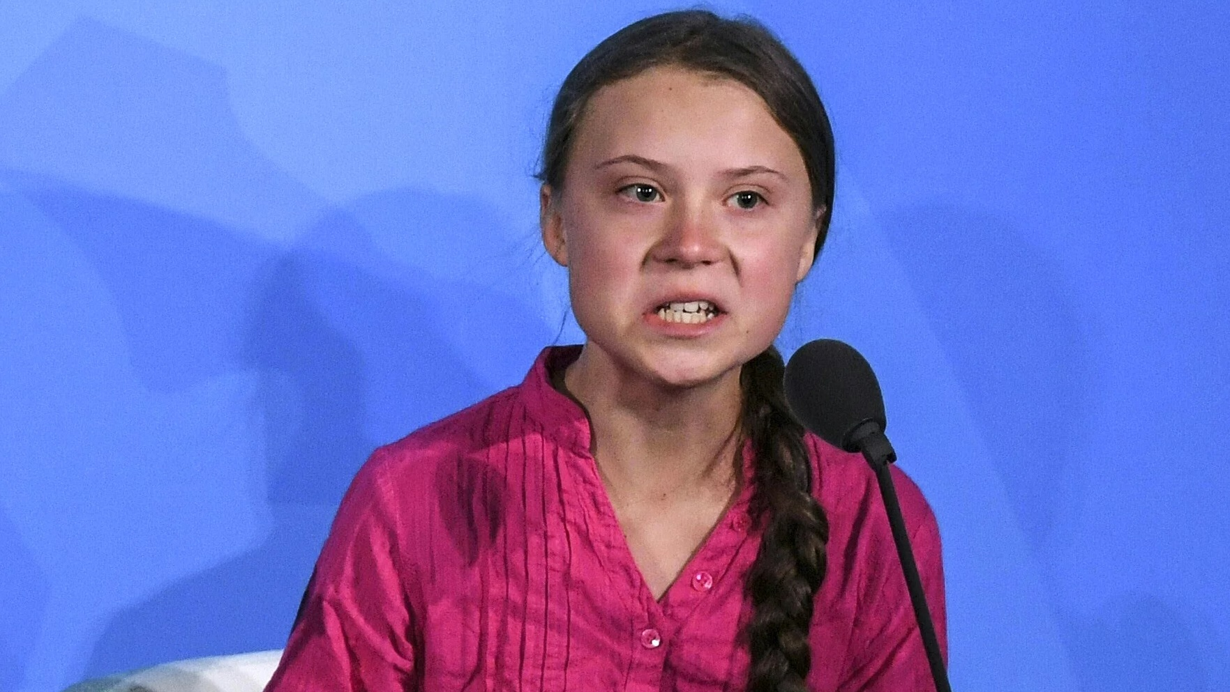 Image: Greta Thunberg: An actress that's as fake as the climate change hoax
