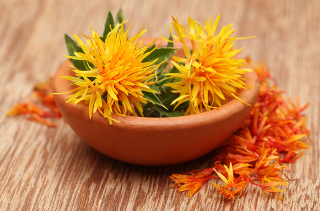 Image: Safflower is used in Asian medicine to treat various ailments
