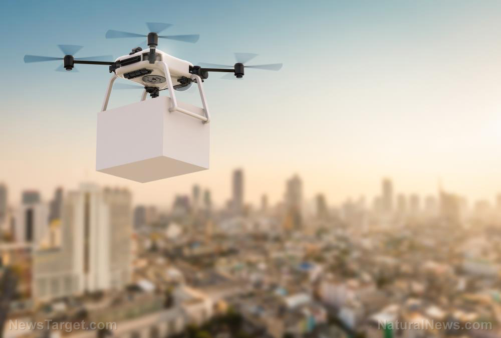 Image: UPS partners with CVS Pharmacy to carpet bomb America with medications delivered via drones