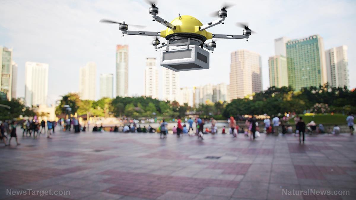 Image: It's about to get A LOT noisier: Commercial drone delivery won't just bring packages, but also incessant buzzing