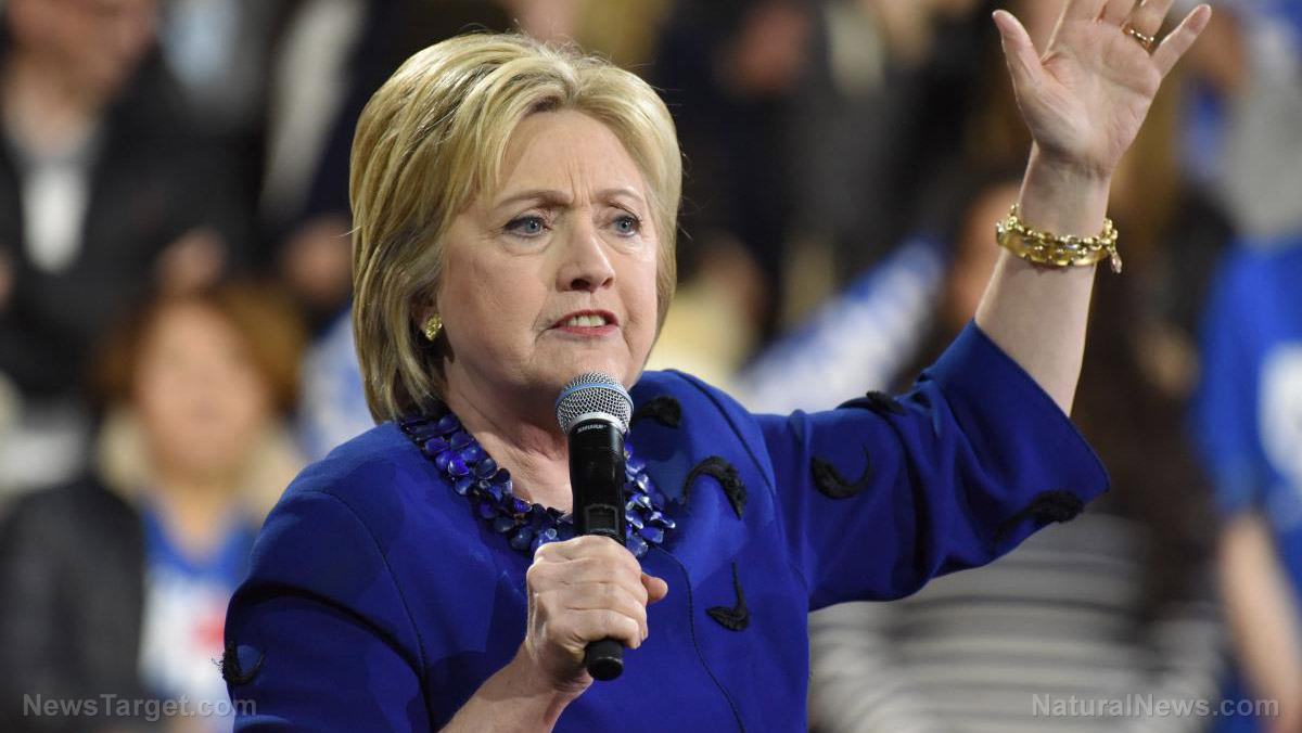 Image: Hillary Clinton blasts Facebook for not censoring enough voices (Video)