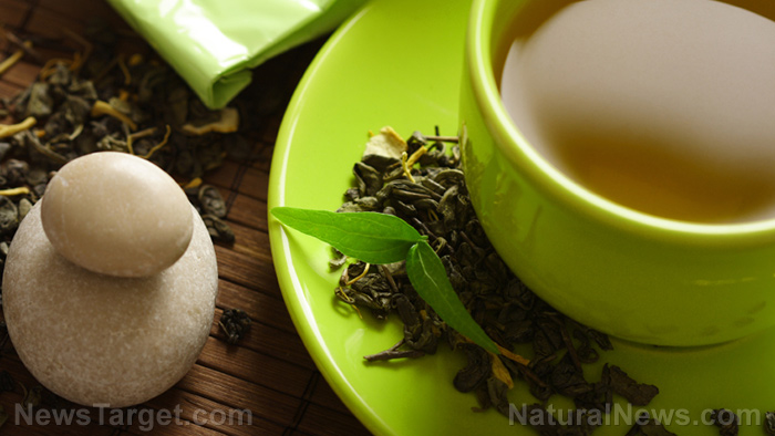Image: Polyphenols: They give green tea its anti-obesity and anti-inflammatory properties