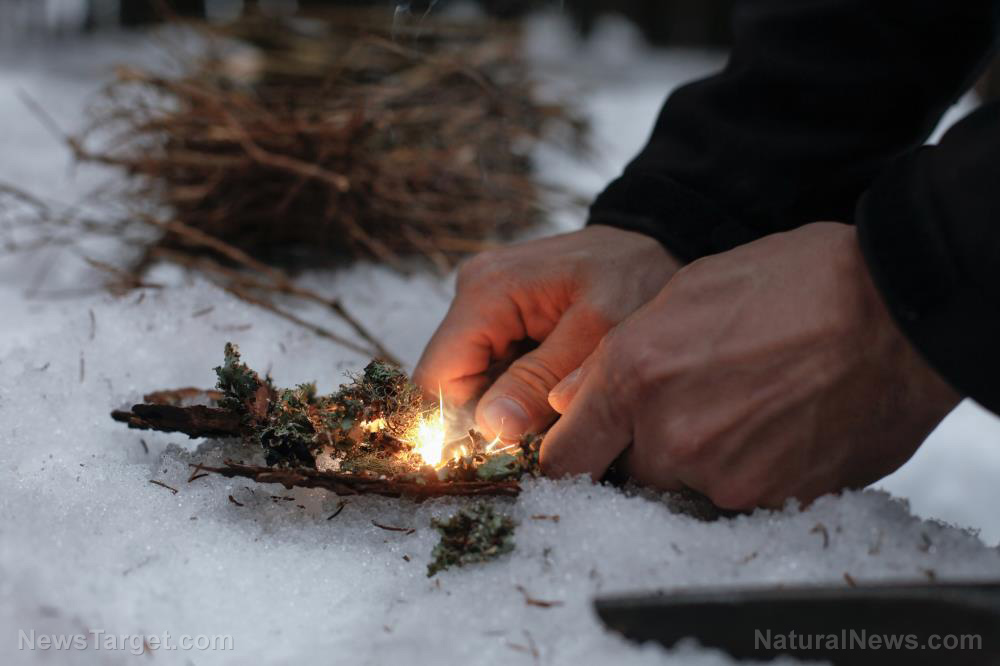 Image: Survival first aid: How to prevent and treat hypothermia when SHTF