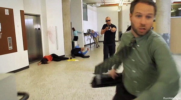 Image: How active shooter drills are used to terrorize the public into supporting gun control