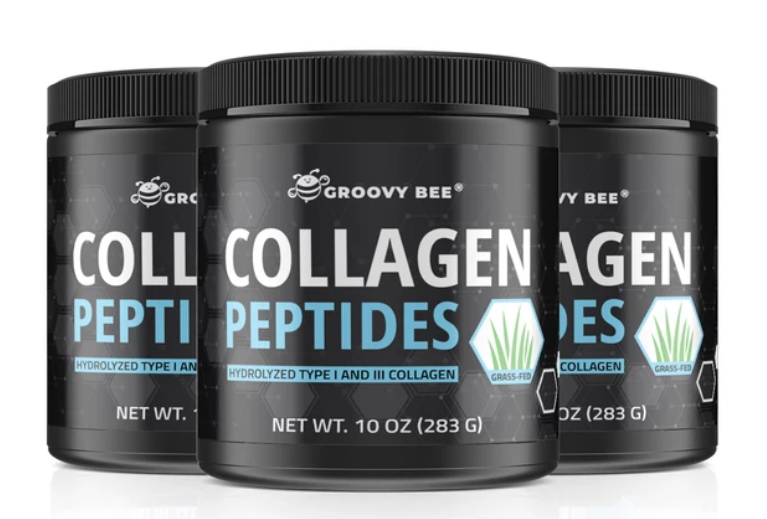 """We ve completed the lab testing: """"Groovy Bee"""" Collagen Peptides (hydrolyzed"""