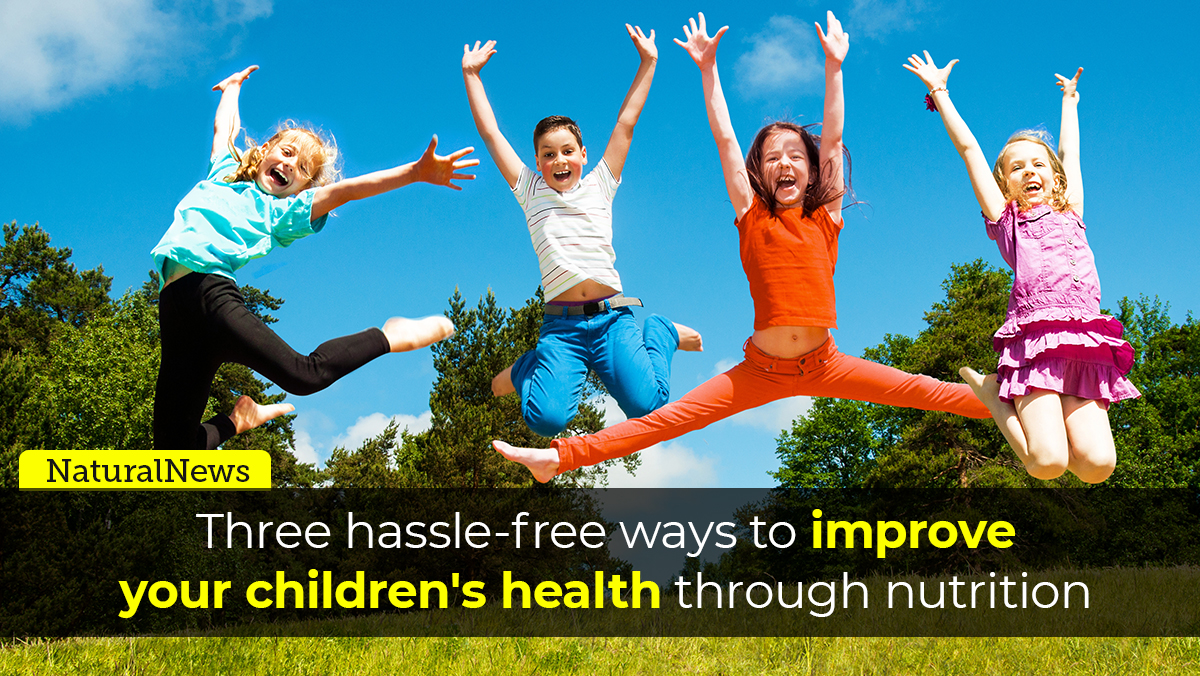 Image: 3 hassle-free ways to improve your children's health through nutrition