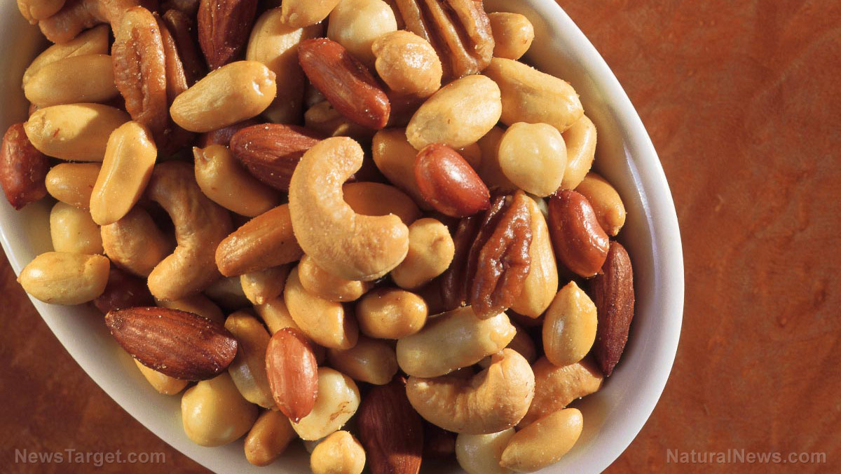 Image: Go nuts for your heart: Regularly eating a variety of nuts found to lower risk of heart disease