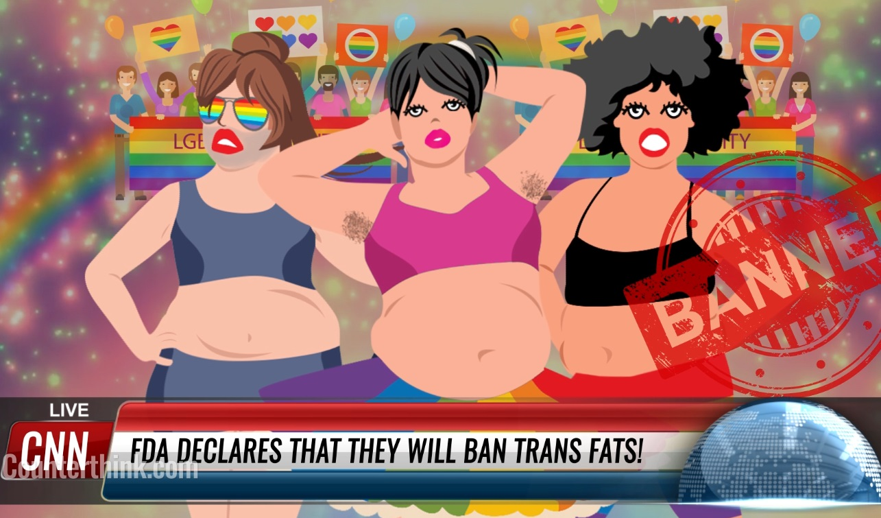 Image: If you oppose GMOs, you must also oppose transgenderism… unless you're intellectually dishonest