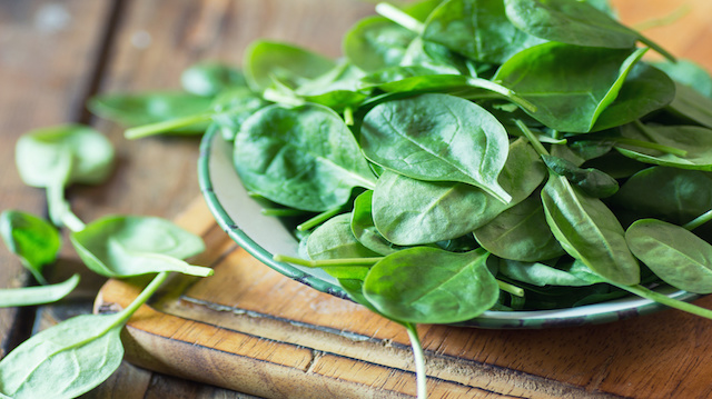 Image: The evidence is undeniable: Green leafy vegetables take the prize when it comes to protecting eye health