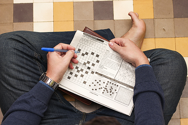 Image: Crossword-loving puzzleheads have better brain function – even later in life