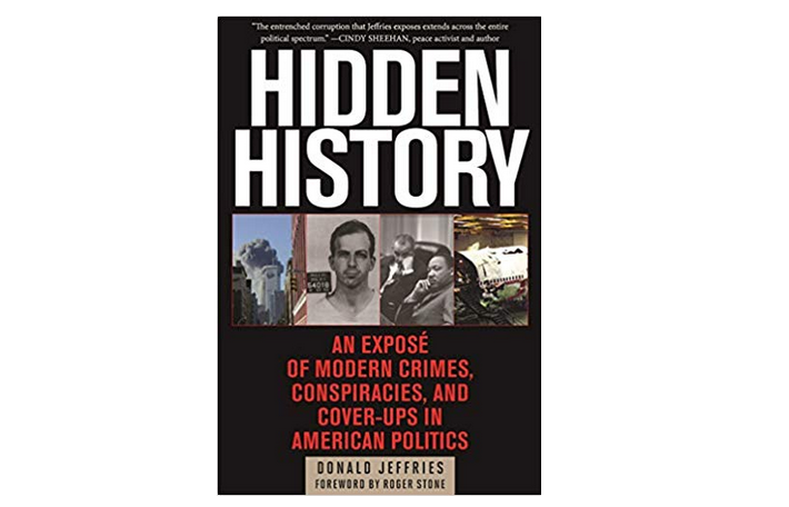 "Image: A must-read book: ""Hidden History"" by Donald Jeffries (also available as an audiobook)"