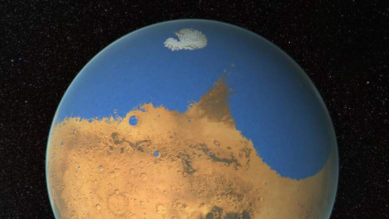 Image: Water on Mars: The Red Planet is dumping its limited water supply into space, say researchers