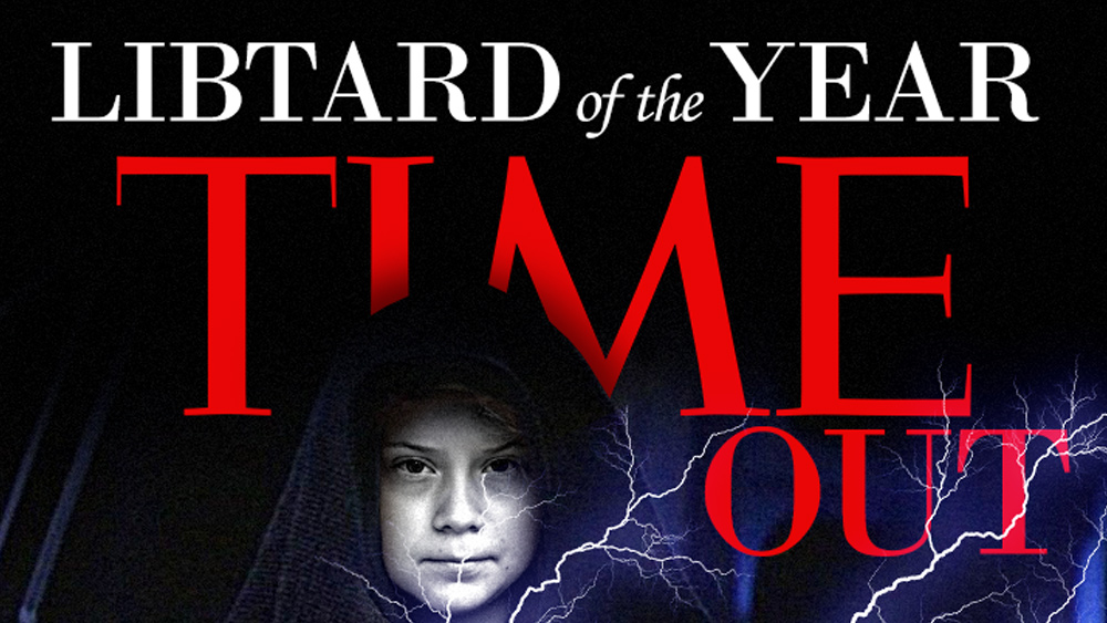 "Image: Friday humor: TIME (out) Magazine names ""Groota Thunderpants"" Libtard of the Year"