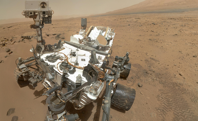 Image: Water on the Red Planet: NASA's Curiosity rover discovers high amount of clay on Mars