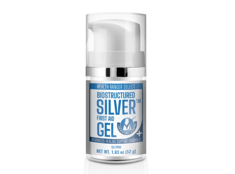 "Image: Breakthrough ""Biostructured Silver"" First Aid Gel created by the Health Ranger – now available"