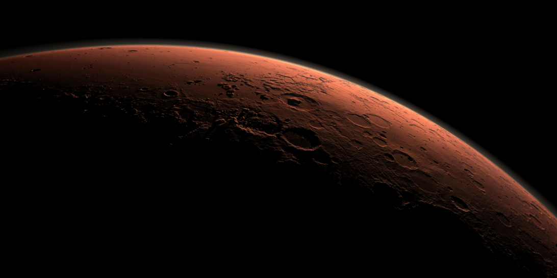 Image: Researchers explore novel method for generating breathable air on Mars