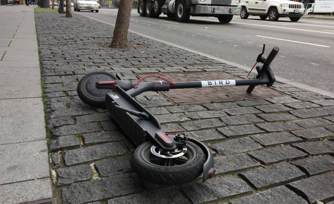 Image: Electric scooters shouldn't be treated as toys: Face and head injuries caused by the motorized scooters have TRIPLED, warn researchers