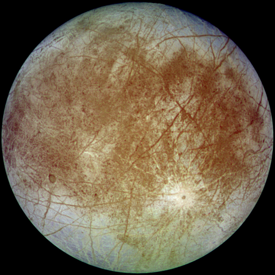 Image: Study suggests Europa, Jupiter's Moon, contains table salt in its oceans just like the oceans on Earth
