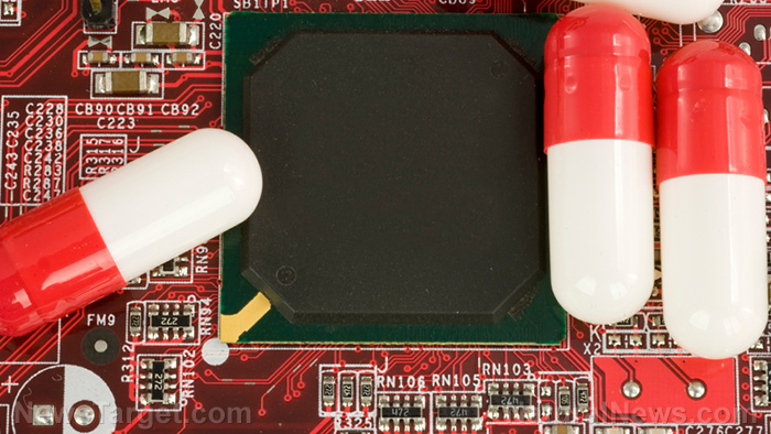 Image: Big Pharma's dream come true: Electronic smart pills contain computer chips that track your compliance