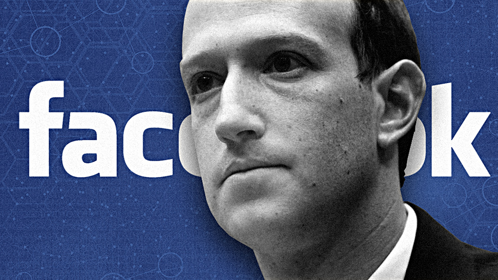 "Image: The death of free speech: Zuckerberg asks governments for instructions on ""what discourse should be allowed"""
