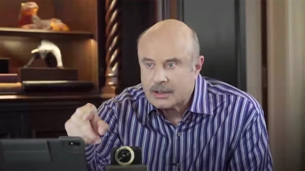 Image: Dr. Phil joins stampede of morons on Fox News who spew misleading nonsense about the coronavirus pandemic, essentially claiming it's all a hoax