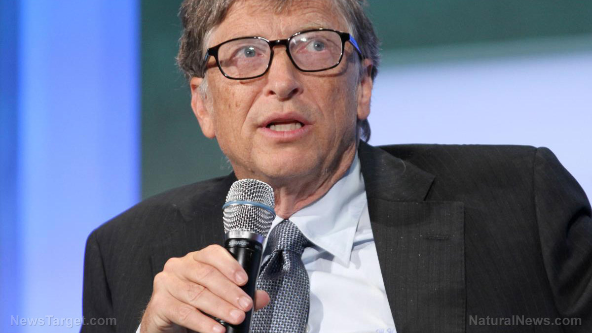 Image: Bill Gates: coronavirus lockdowns will prevent people from developing natural immunity so we can sell them more drugs, vaccines