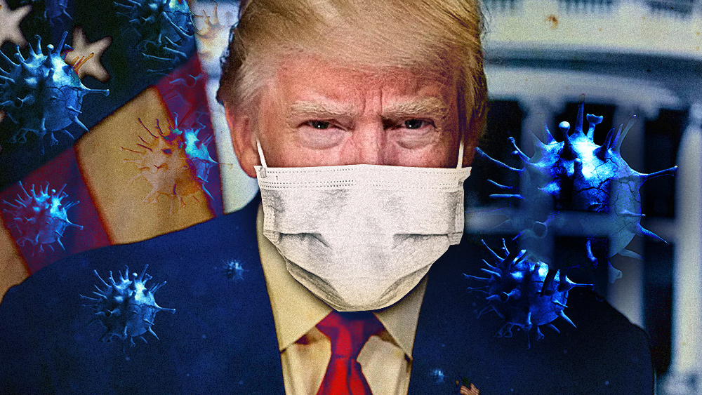 Image: After months of rejecting masks and watching infections spread, Trump finally orders all White House officials and visitors to wear masks