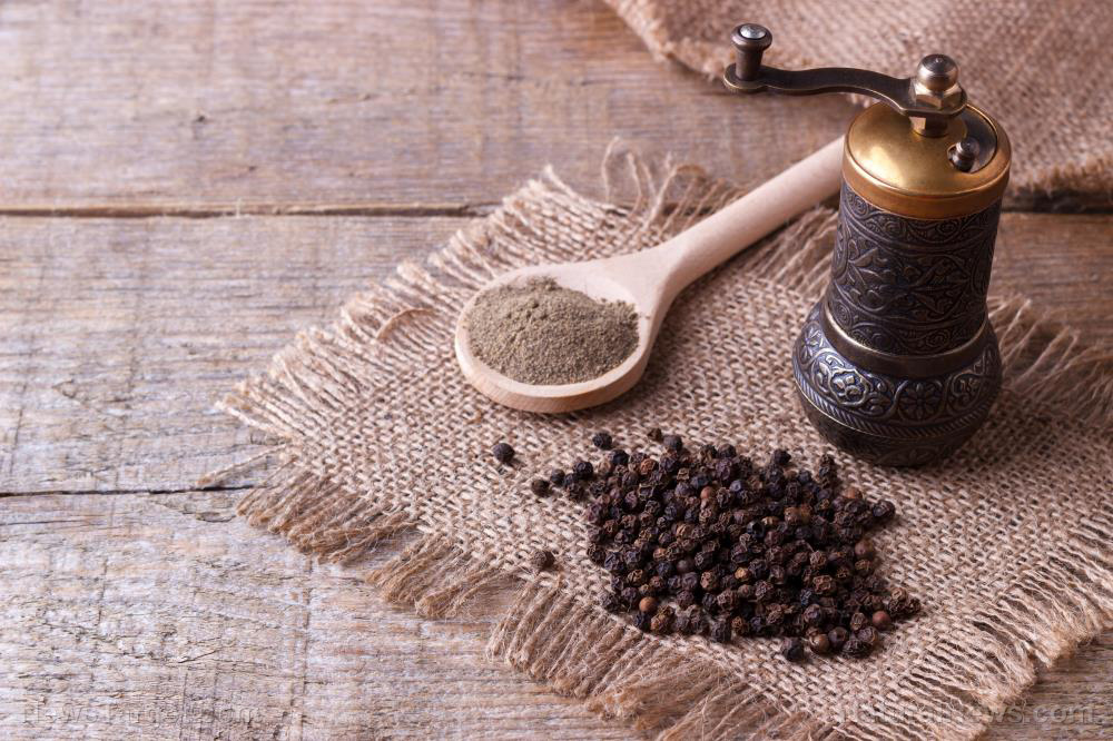Image: The health benefits of antioxidant-rich black pepper and piperine