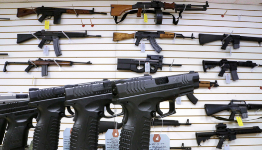 Image: Gun sales skyrocket amid coronavirus pandemic AND engineered riots