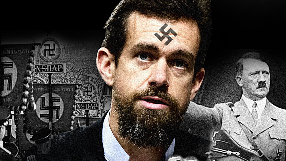 Image: Twitter CEO Jack Dorsey censoring those who want law and order (including the President) while aiding and abetting domestic terrorists