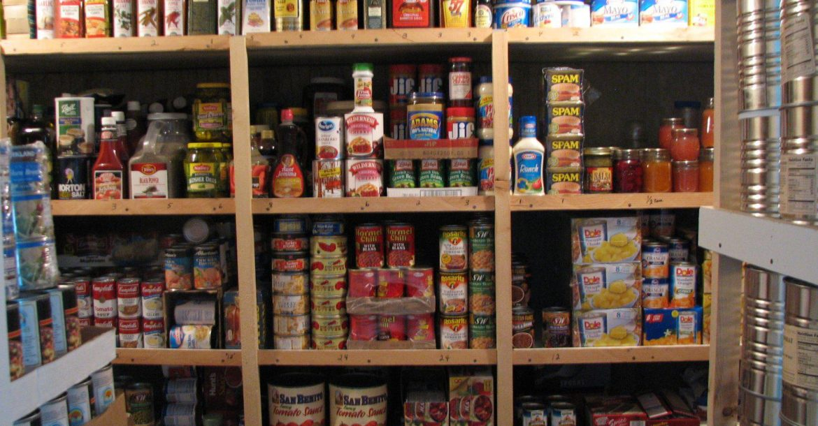Image: Prepper tips: How to keep your food stockpile safe