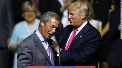 Image: Farage to Breitbart: 'I have never seen so many people scared to say what they think'