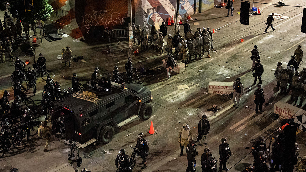 """Image: Seattle police union leader says Seattle will be """"lawless wasteland"""" if police are defunded"""