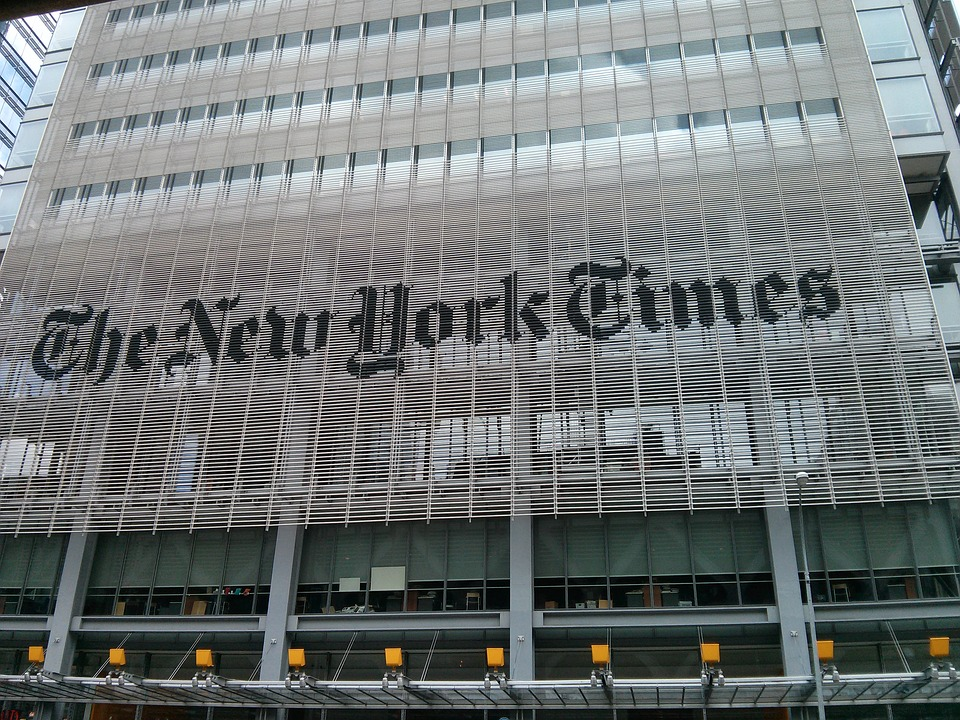 "Image: Family of New York Times has ties to slavery and Confederacy, so the ""cancel culture"" mob has to tear it down, right?"