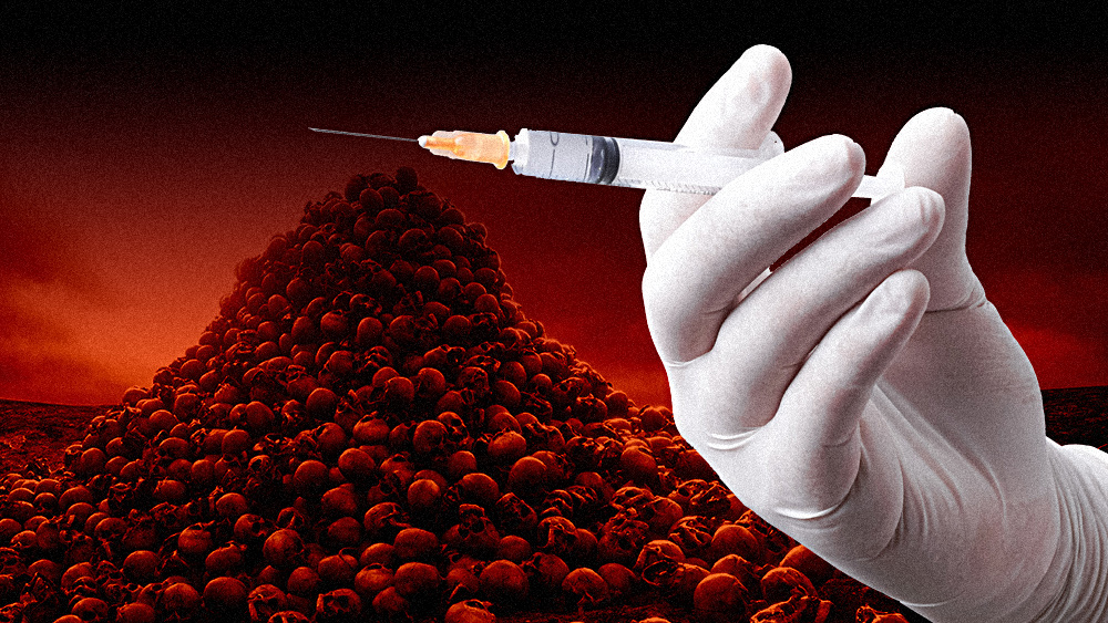 "Image: The coronavirus vaccine is the ""final solution"" depopulation weapon against humanity; globalists hope to convince BILLIONS of people to commit ""suicide-via-vaccine"""