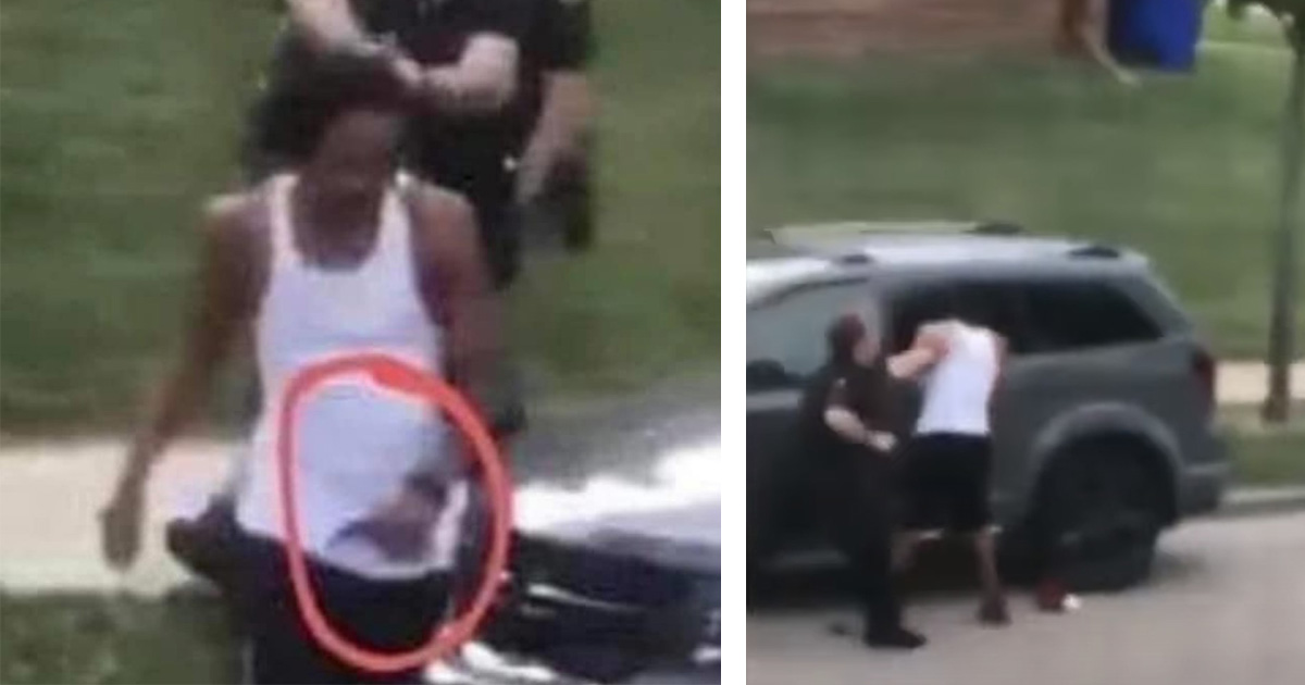 Image: Jacob Blake is a violent thug, but left-wing media conspires to falsely portray him as an innocent angel
